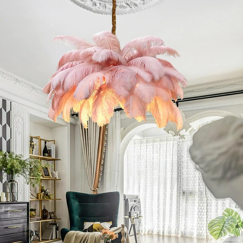 Feathers Of Royalty Luxury Chandelier MNMLST Designs