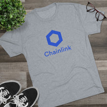 Load image into Gallery viewer, Chainlink Tri-Blend Crew Tee