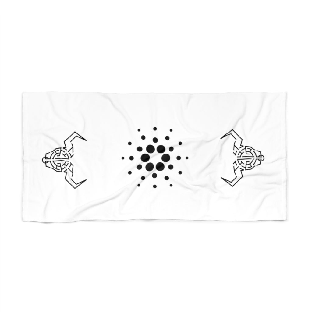 Cardano Deadalus Beach Towel