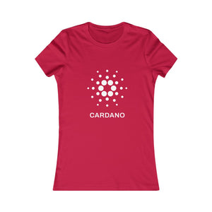 The Cardano Foundation Women's Favorite Tee