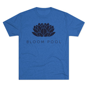 The Bloom Pool Tri-Blend Crew Tee