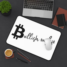 "Load image into Gallery viewer, ""Bullish on Life"" Desk Mat"