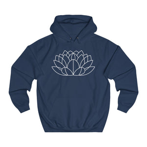 Bloom Pool Unisex College Hoodie