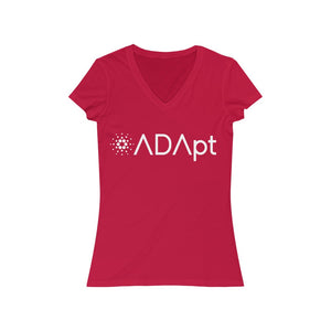 ADApt Women's Jersey Short Sleeve V-Neck Tee