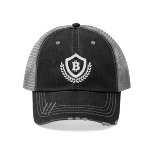 """Forever Bitcoin"" Trucker Hat - Embroidered"