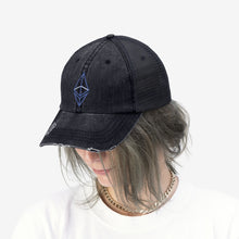 Load image into Gallery viewer, Wired Octahedron ETH Trucker Hat