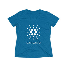 Load image into Gallery viewer, Cardano Foundation Women's Heather Wicking Tee