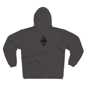 Wired Octahedron Hooded Zip Sweatshirt