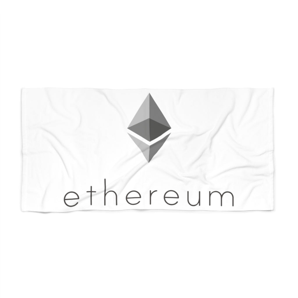 Ethereum Beach Towel