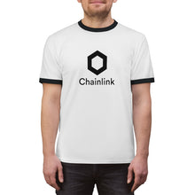 Load image into Gallery viewer, Chainlink Unisex Ringer Tee