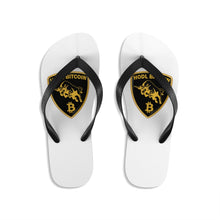 Load image into Gallery viewer, Lambo HODL Bitcoin Flip-Flops