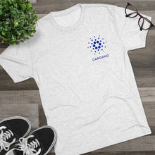 Load image into Gallery viewer, Cardano Foundation Tri-Blend Crew Tee