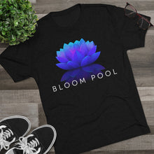 Load image into Gallery viewer, The Bloom Pool Tri-Blend Crew Tee