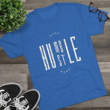 Load image into Gallery viewer, Stay Humble/Hustle Hard Tri-Blend Crew Tee