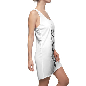 Ouroboros Inclusive Women's Cut & Sew Racerback Dress