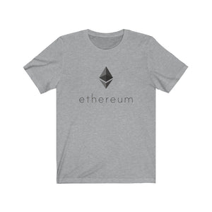 Ethereum Jersey Short Sleeve Tee (Octahedron on Back)