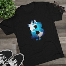 Load image into Gallery viewer, Bitcoin World Tri-Blend Crew Tee