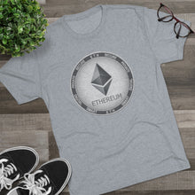 Load image into Gallery viewer, ETH Smart-Digital-Private Tri-Blend Crew Tee