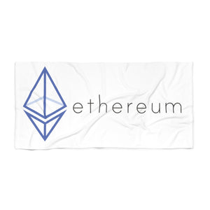 The Wired Octahedron ETH Beach Towel