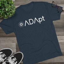 Load image into Gallery viewer, ADApt Tri-Blend Crew Tee