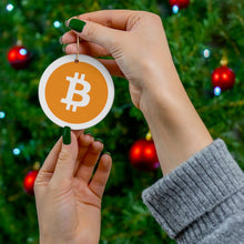 Load image into Gallery viewer, Bitcoin Ornament