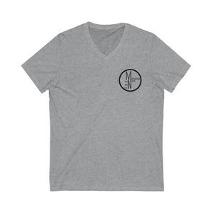 The M[N] Life Logo V-Neck Tee