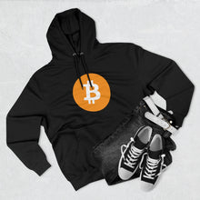 Load image into Gallery viewer, Bitcoin Unisex Premium Pullover Hoodie