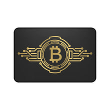 Load image into Gallery viewer, Golden BTC Desk Mat