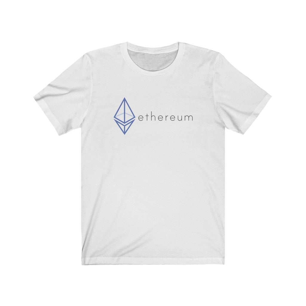 The Wired Octahedron ETH Logo Jersey Short Sleeve Tee