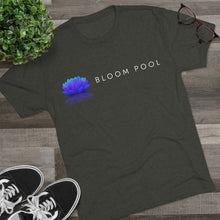 Load image into Gallery viewer, The Bloom Pool Landscape Tri-Blend Crew Tee