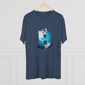 Bitcoin World Tri-Blend Crew Tee