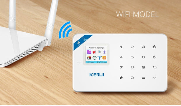 Wireless Home Security Set - Wifi Home Alarm GSM