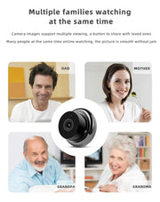 Mini Spy Security Surveillance Camera, Nanny Cam, Night Vission 1080P, Wireless, WiFi, with 32 GB SD card included