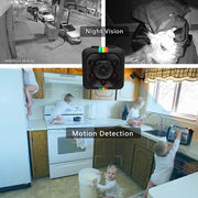 Mini 480P HD Camera - Motion Sensor Night Vision