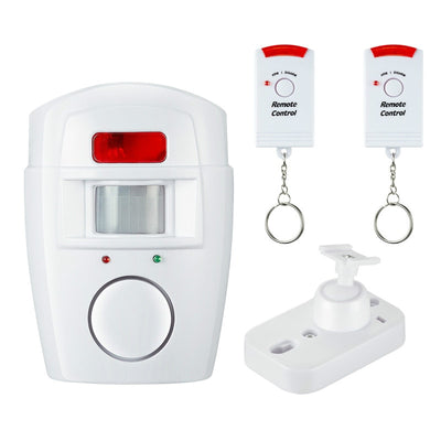 Home Security Set - Alert Remote Control Anti-theft Motion Detector