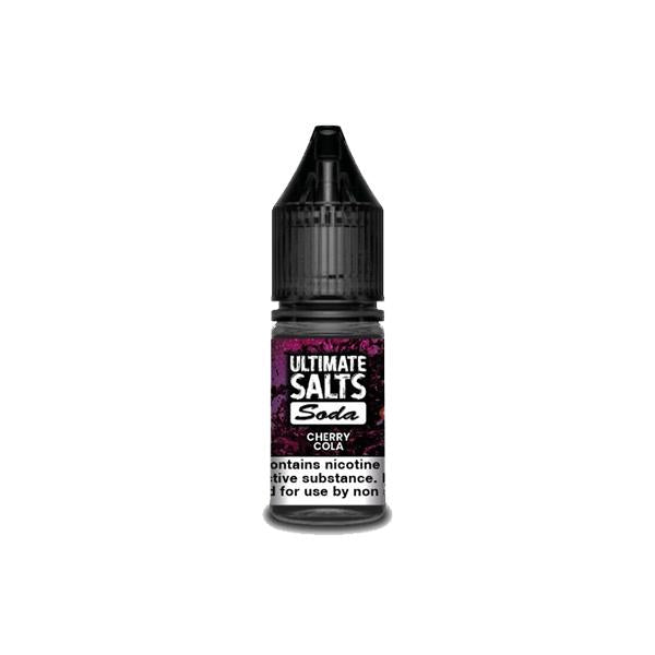 Load image into Gallery viewer, 10MG Ultimate Puff Salts Soda 10ML Flavoured Nic Salts (50VG/50PG)