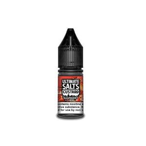 Load image into Gallery viewer, 20MG Ultimate Puff Salts Custard 10ML Flavoured Nic Salts