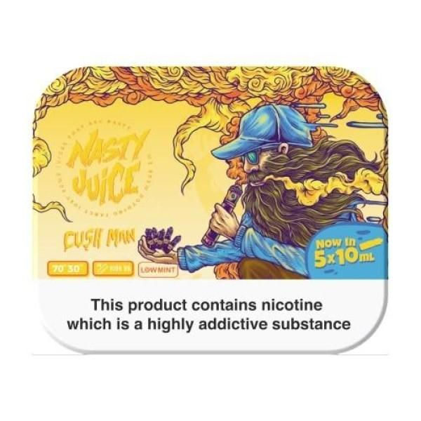Load image into Gallery viewer, Nasty Juice 3mg 5x10ml Multipack (70VG/30PG)