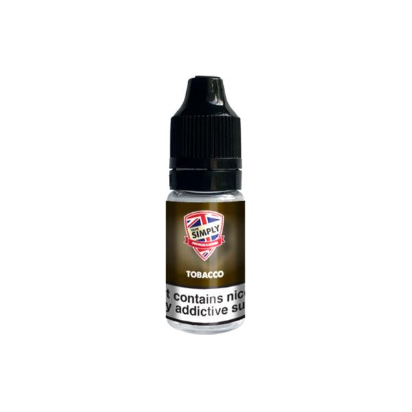 Load image into Gallery viewer, Vape Simply 6mg 10ml E-liquid