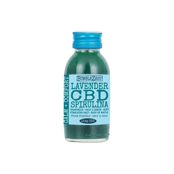 Load image into Gallery viewer, 20 x BumbleZest Calm & Comfort 12mg CBD Drink 60ml