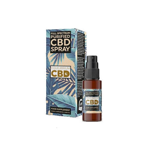 Load image into Gallery viewer, Equilibrium CBD Purified Range 500mg CBD Oil 10ml - Spray / Dropper Bottle
