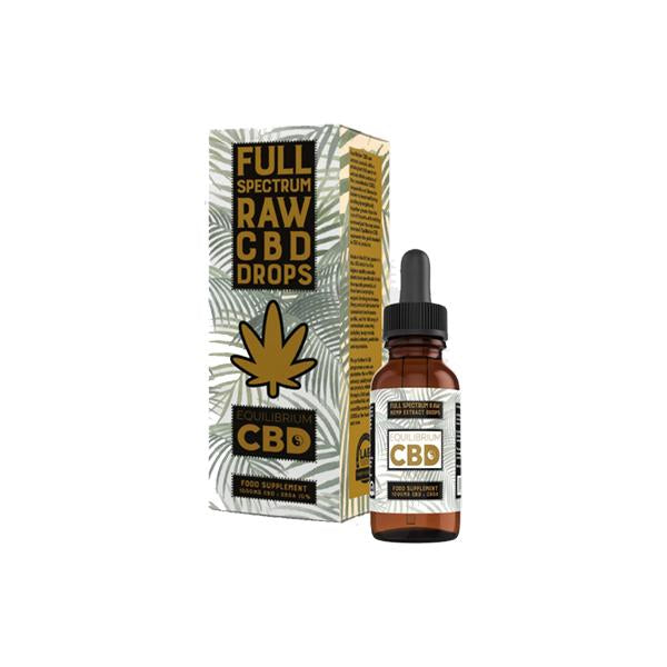 Equilibrium CBD Raw Extract 1000mg CBD Oil 10ml