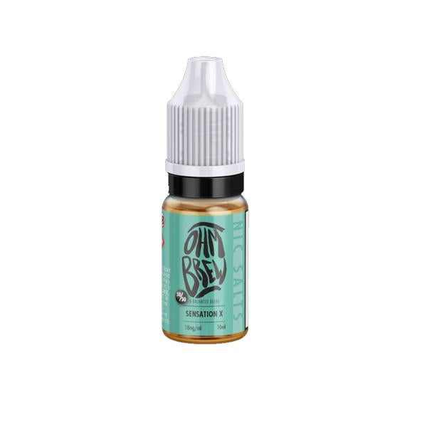 Load image into Gallery viewer, 18mg Ohm Brew Balanced Blends 10ml Nic Salt (50VG/50PG)