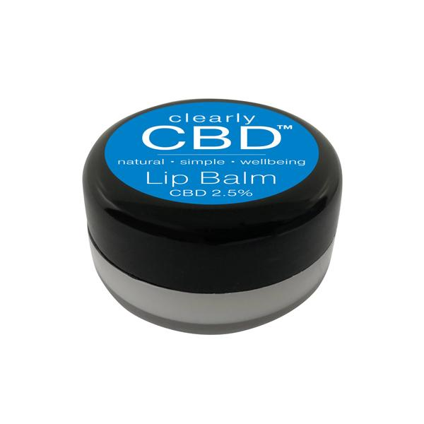 Load image into Gallery viewer, Clearly CBD Lip Balm 25mg CBD 10g