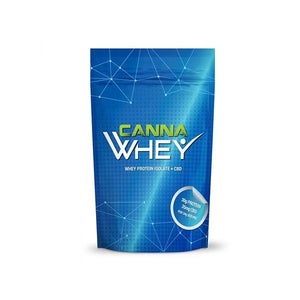 Load image into Gallery viewer, CannaWHEY CBD Whey Protein Drink 500g - Blueberry Muffin