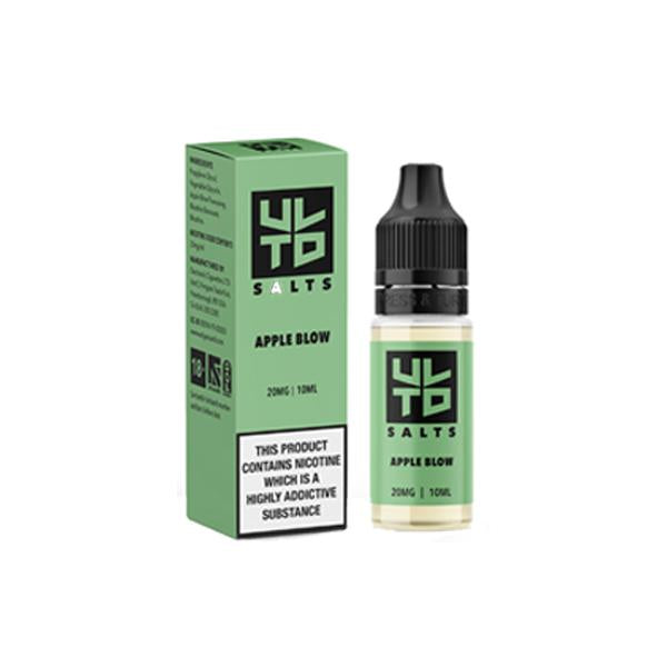 Load image into Gallery viewer, 20mg ULTD Nic Salt 10ml (60VG/40PG)