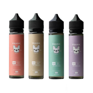 Load image into Gallery viewer, Frank Vape Co. 0mg 50ml Shortfill (70VG/30PG)