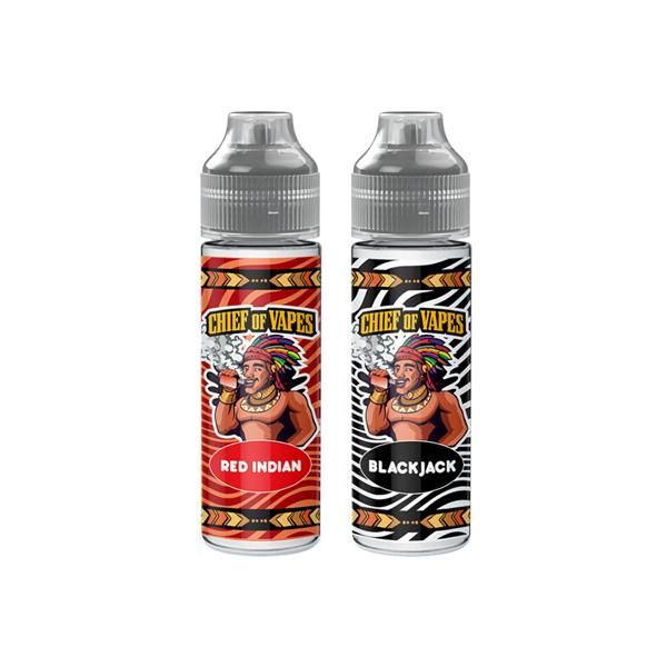 Load image into Gallery viewer, Three Chiefs by Chief of Vapes 0mg 50ml Shortfill (70VG/30PG)
