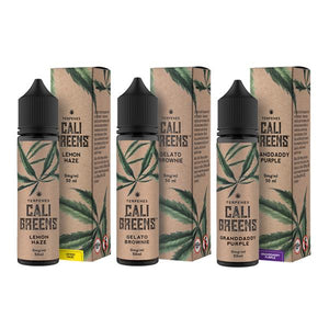 Load image into Gallery viewer, Terpenes Cali Greens 50ml Shortfill E-Liquid (70VG/30PG)