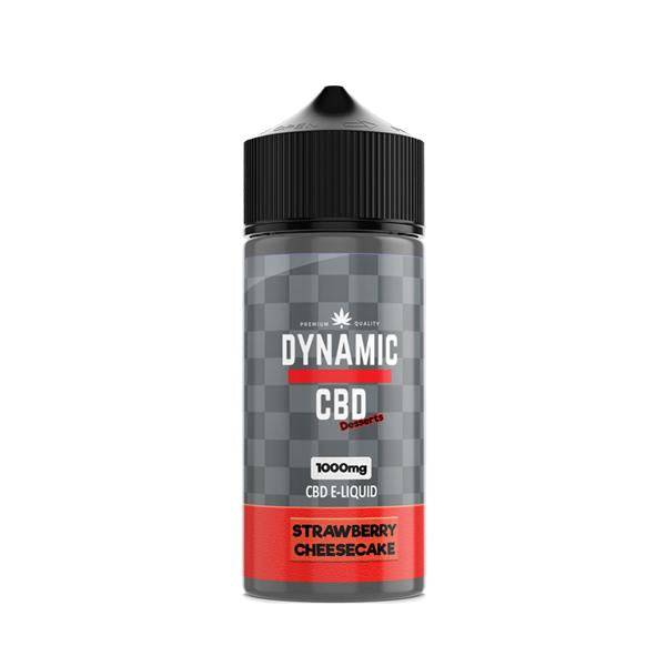 Load image into Gallery viewer, Dynamic CBD 1000mg E-liquid 100ml